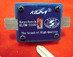 klom profile key check